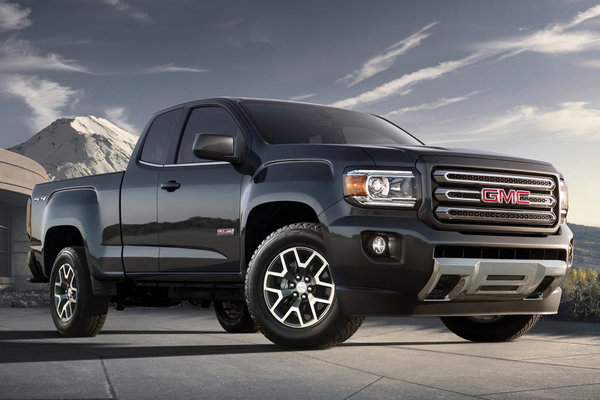 2018 GMC Canyon Extended Cab