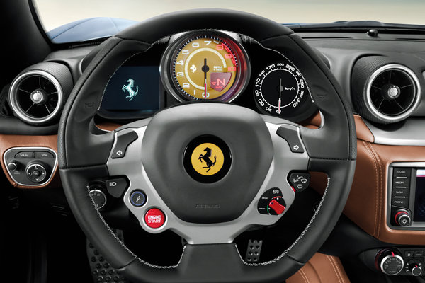 2015 Ferrari California T Instrumentation