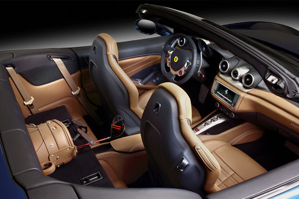 2015 Ferrari California T Interior