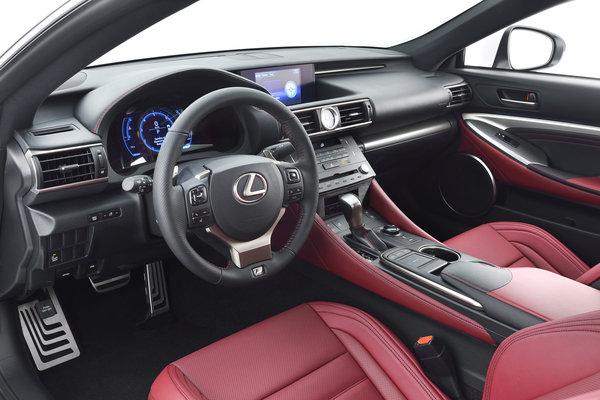 2015 Lexus RC Interior