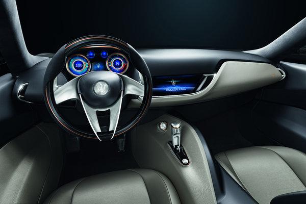 2014 Maserati Alfieri Interior
