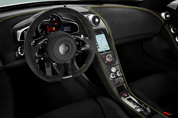 2015 McLaren 650S Instrumentation