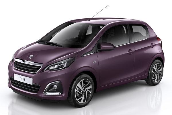 2014 Peugeot 108 5d