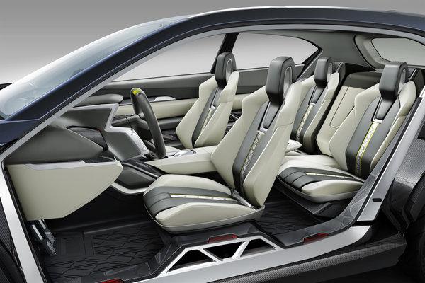 2014 Subaru Viziv 2 Interior