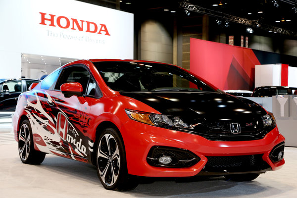 2014 Honda Forza Motorsport Civic SI