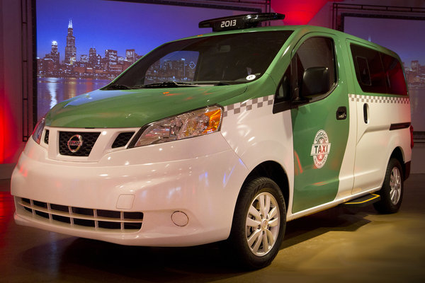 2014 Nissan Chicago NV200 Taxi