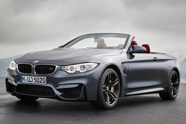 2015 BMW 4-Series M4 convertible