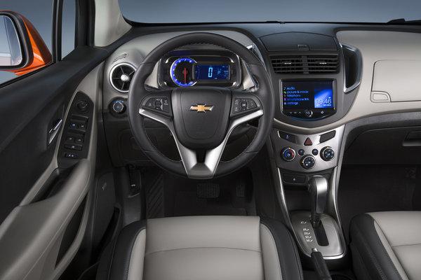 2015 Chevrolet Trax Instrumentation