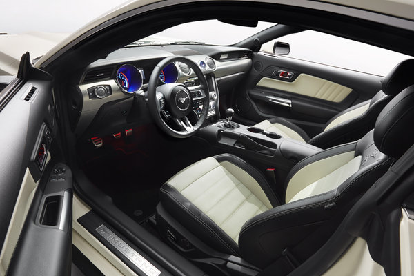 2015 Ford Mustang 50th Anniversary Edition Interior
