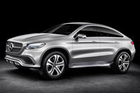 2014 Mercedes-Benz Concept Coupe SUV