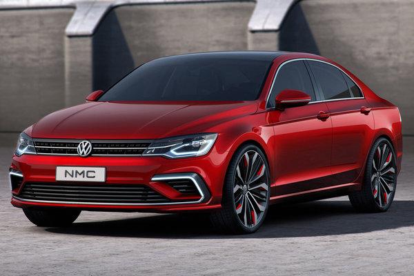 2014 Volkswagen Midsize Coupe