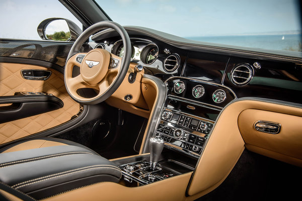 2015 Bentley Mulsanne Speed Interior