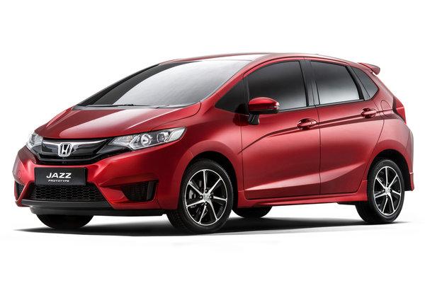 2014 Honda Jazz prototype