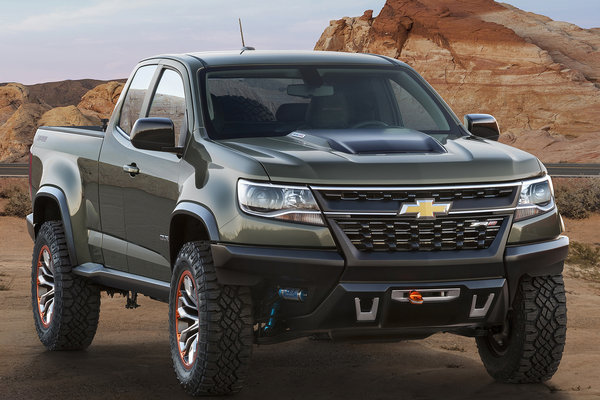 2014 Chevrolet Colorado ZR2