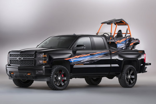 2014 Chevrolet Silverado Polaris ACE+