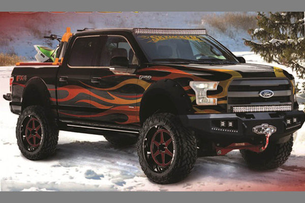 2014 Ford 2015 F-150 Controlled Burn by Skyjacker Suspensions
