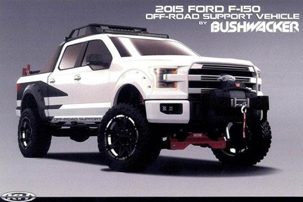 2014 Ford 2015 F-150 Off-Road Support by Bushwacker