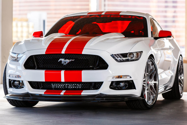 2014 Ford 3D Carbon Mustang