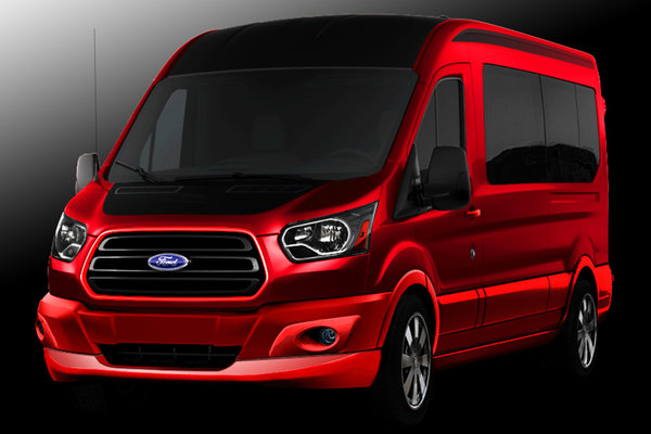 2014 Ford Designed Travel Transit by 3dCarbon