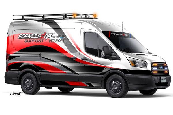 2014 Ford Formula DRIFT Transit
