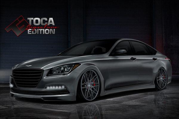 2014 Hyundai Genesis Toca Signature Edition