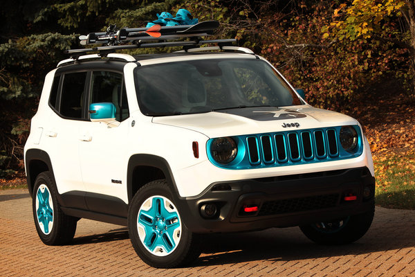 2014 Jeep Renegade Frostbite