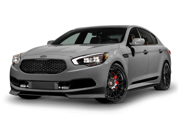 2014 Kia High-Performance K900