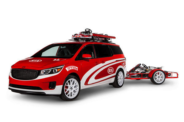 2014 Kia Ultimate Karting Sedona