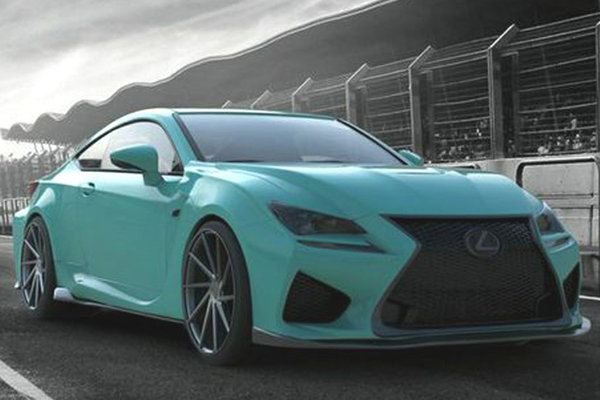 2014 Lexus Insta-Built RC F by VIP Auto Salon
