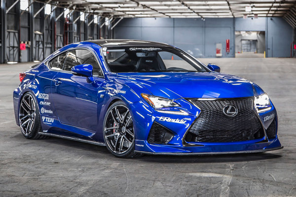 2014 Lexus RC F Sport by Gordon Ting / Beyond Marketing
