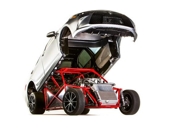 2014 Toyota Sleeper Camry
