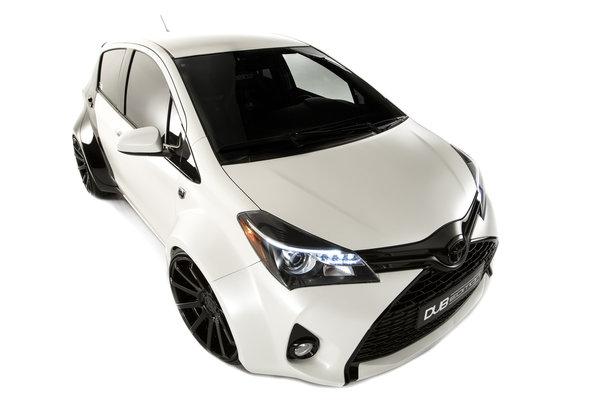 2014 Toyota Yaris DUB Edition