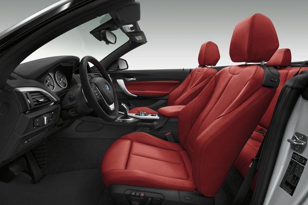 2015 BMW 2-Series Convertible Interior