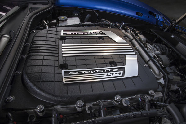 2015 Chevrolet Corvette Z06 Convertible Engine