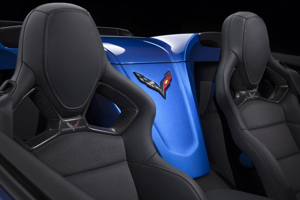 2015 Chevrolet Corvette Z06 Convertible Interior