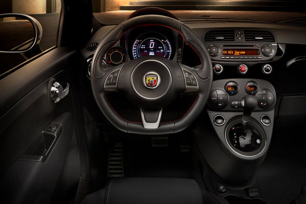 2015 Fiat 500 C Instrumentation