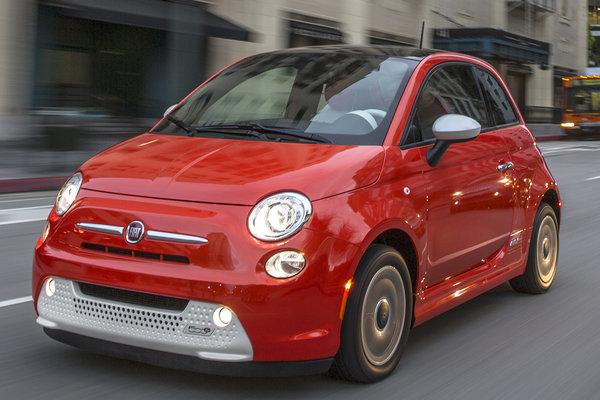 2015 Fiat 500 e