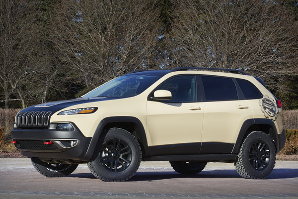 2015 Jeep Cherokee Canyon Trail