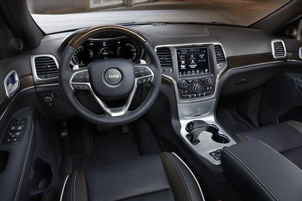 2015 Jeep Grand Cherokee Interior