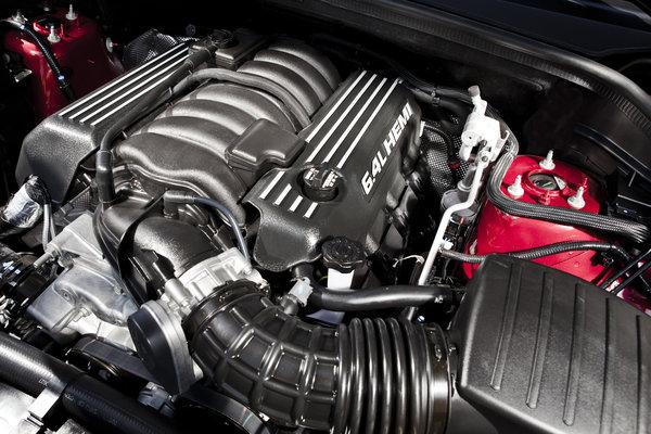 2015 Jeep Grand Cherokee SRT Engine