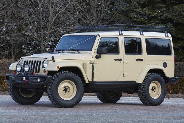 2015 Jeep Wrangler Africa
