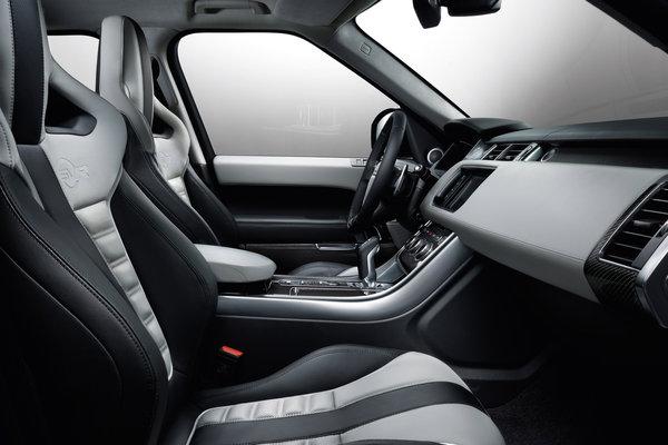 2015 Land Rover Range Rover Sport SVR Interior