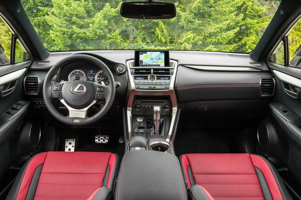 2015 Lexus NX 200t F Sport Interior