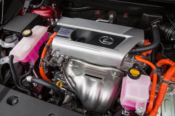 2015 Lexus NX 300h Engine