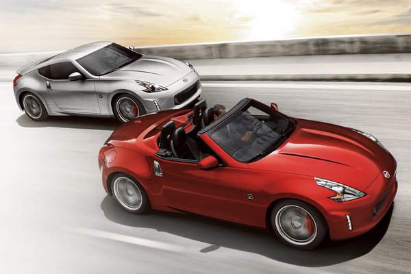 2015 Nissan 370Z Roadster and Coupe