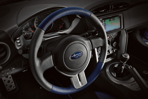 2015 Subaru BRZ Series.Blue Interior