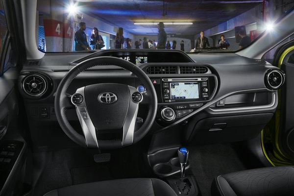 2015 Toyota Prius c Interior