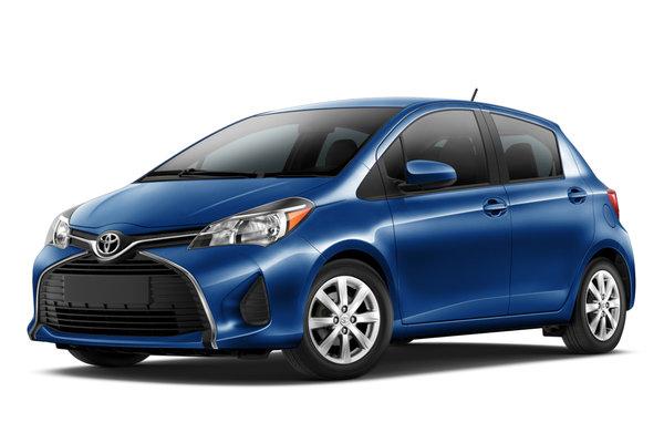 2015 Toyota Yaris 5d Liftback