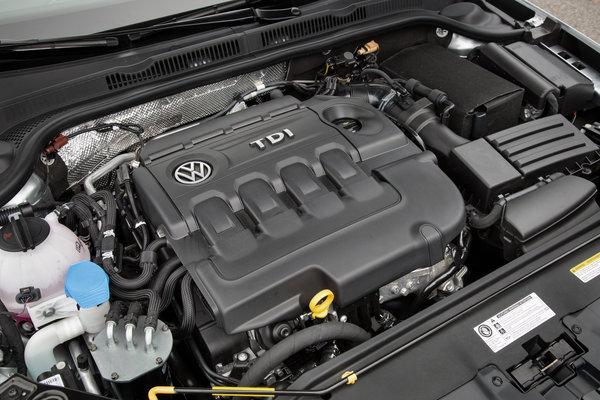 2015 Volkswagen Jetta TDI Engine
