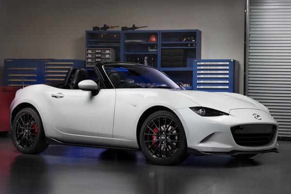 2015 Mazda accessorized MX-5